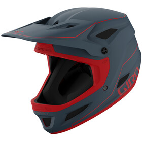 Giro Disciple MIPS Helm matte portaro grey/red